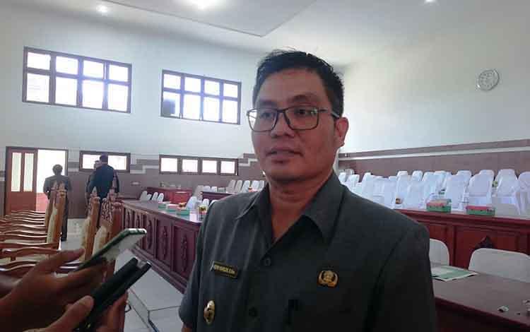 Wakil Bupati Gunung Mas, Rony Karlos.