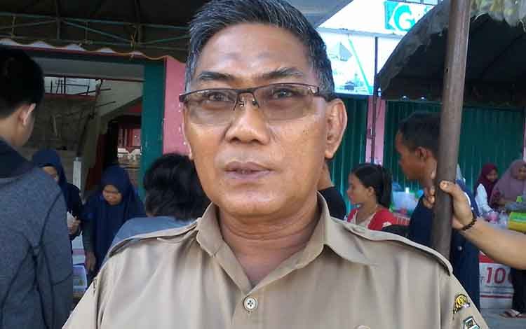 Plt Kepala BPBD Katingan Ahmad Rubama.