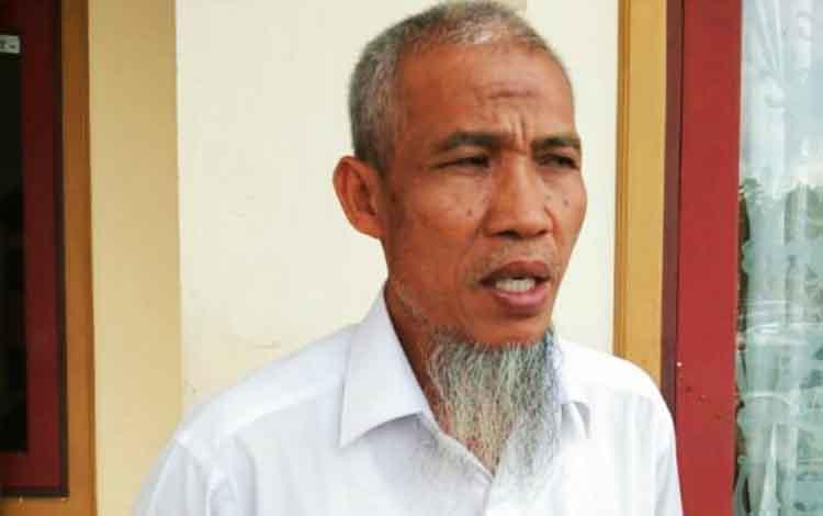 Plt Kepala Disperkim Kota Palangka Raya Imbang Triatmaji.