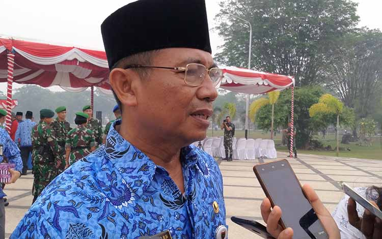 Kepala Dinas Pendidikan Provinsi Kalimantan Tengah Slamet Winaryo.