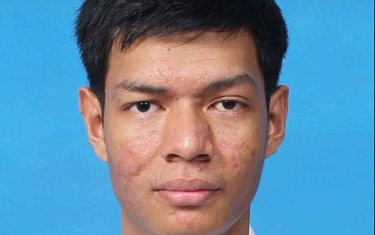 Muhammad Fathurrahman Saleh, siswa SMA Negeri 1 Sampit
