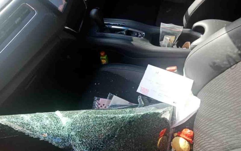 Kasus pencurian dengan modus pecah kaca mobil di Palangka Raya.