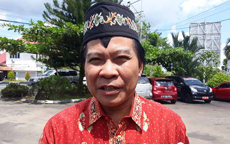Ketua DPRD Kabupaten Kapuas Algrin Gasan.