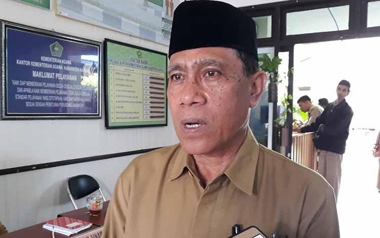 Kepala Kemenag Kapuas, Ahmad Bahruni