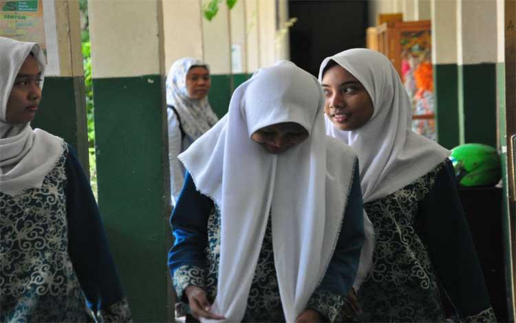 Siswa sekolah menengah kejuruan di Kota Palangka Raya