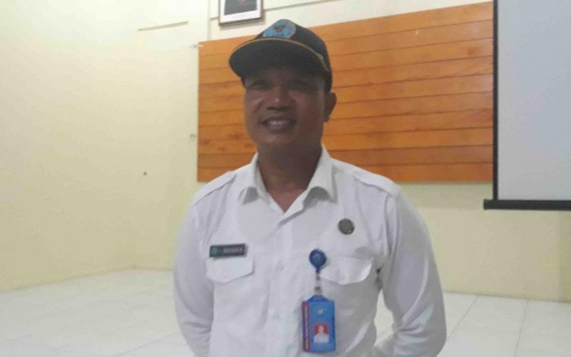 Kepala BNNK Kotawaringin Barat, AKBP I Wayan Korna.