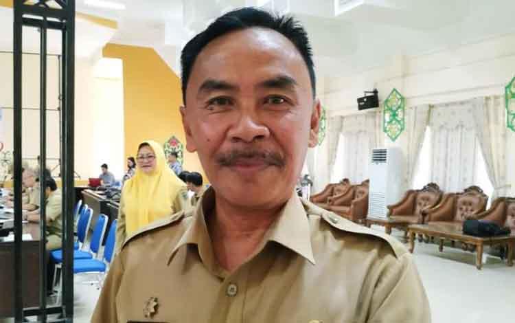 Asisten III Setda Pulang Pisau Eknamensi Tawun.