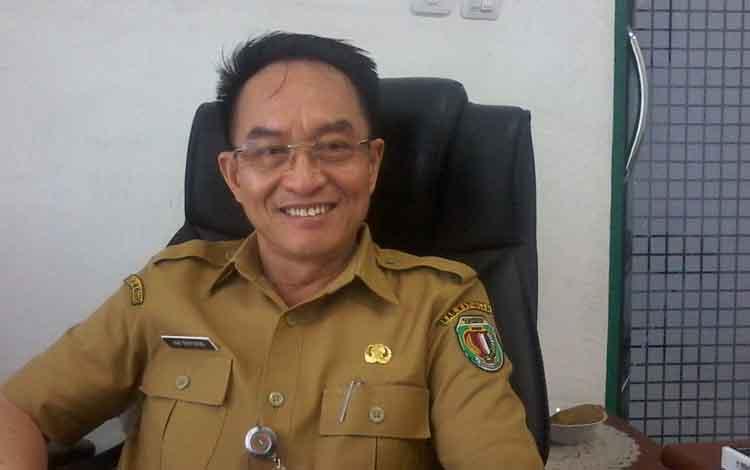 Kepala Dinas Lingkungan Hidup Kabupaten Katingan, Hap Bapperdo.