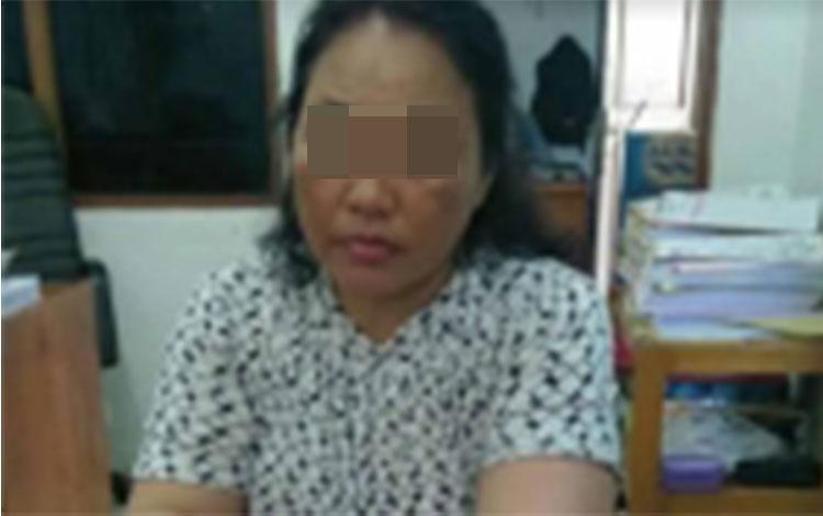 Pelaku pengedar sabu yang diringkus anggota Satreskoba Polres Kotim, Senin, 20 Mei 2019