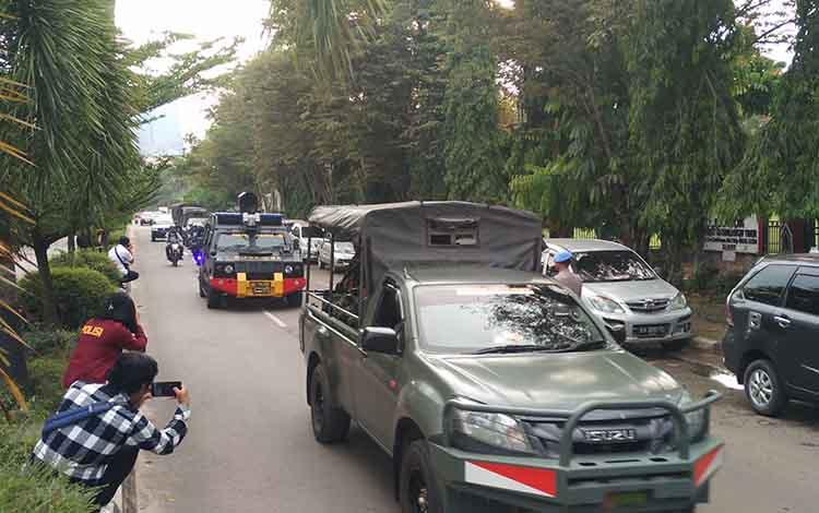 Patroli gabungan TNI, Polri, dan Lapas Kelas IIB Sampit, dalam memperingati Hari Kebangkitan Nasional