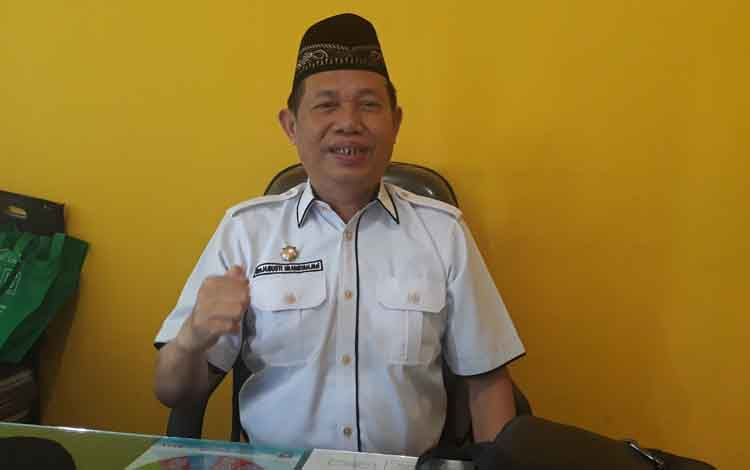 Kepala Dinas Kependudukan dan Pencatatan Sipil Kotawaringin Barat, Gusti Imansyah