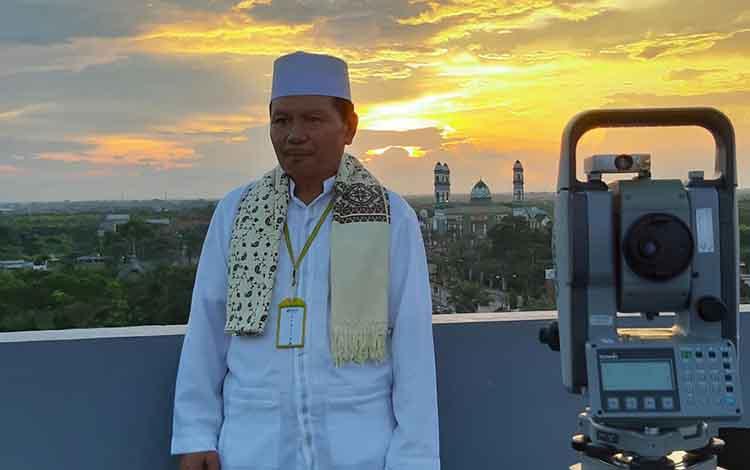 Kepala Kemenag Kotawaringin Timur Syamsudin.