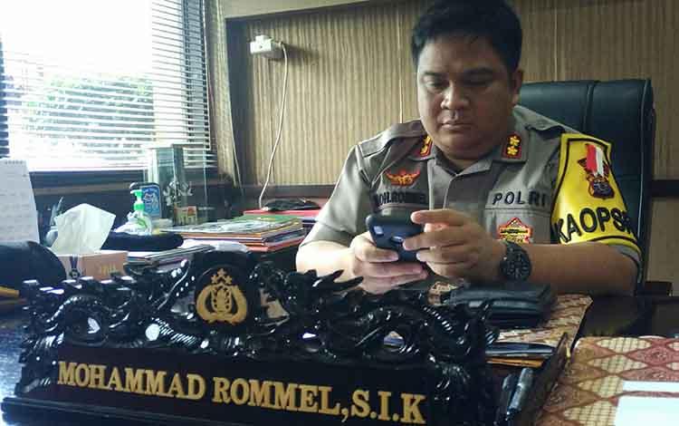 Kapolres Kotim AKBP Mohammad Rommel.