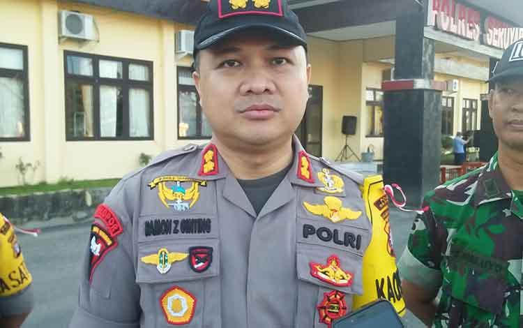 Kapolrea Seruyan AKBP Ramon Z Ginting.