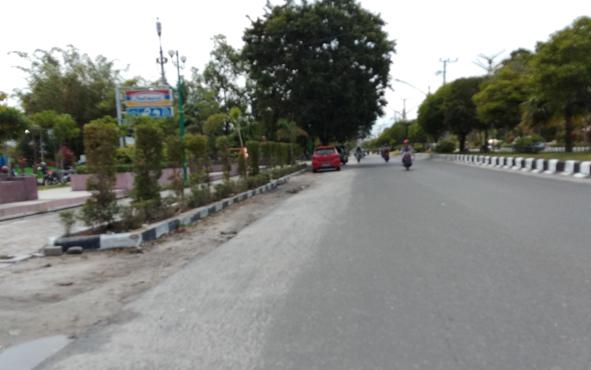 Di lokasi inilah peristiwa kecelakaan maut yang melibatkan oknum perwira Polres Palangka Raya terjadi, beberapa waktu lalu.