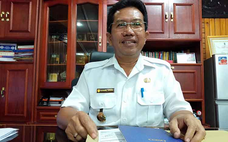 Kepala Dinas Tenaga Kerja dan Transmigrasi Kalteng Syahril Tarigan.