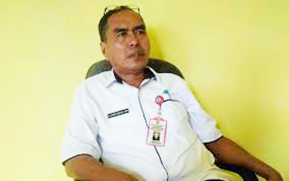 Kepala Dinas Kesehatan Kabupaten Barito Timur Simon Biring.