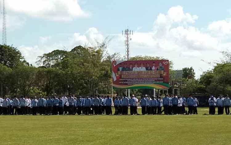 Peringatan hari jadi ke-62 Provinsi Kalimantan Tengah, Kamis, 23 Mei 2019.