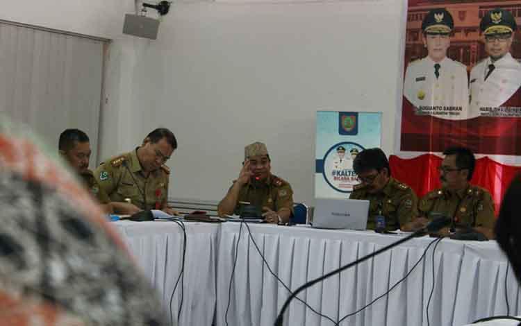 Focus Group Discission (FGD) di aula Bapeddalitbang, Selasa, 21 Mei 2019