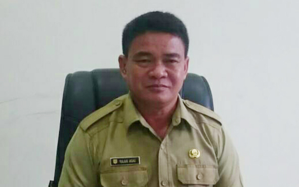 Kepala DPMD Kabupaten Gunung Mas Yulius Agau.