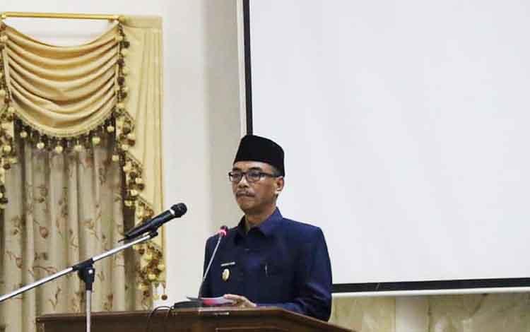 Wakil Bupati Barito Utara, Sugianto Panala Putra.