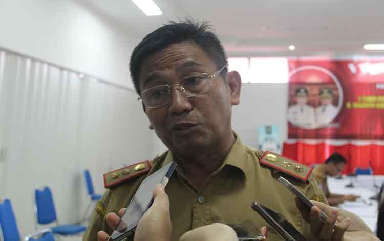 Kepala Dinas Pendidikan Kalimantan Tengah, Slamet Winaryo.