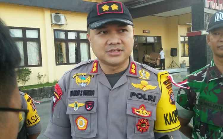 Kapolres Seruyan AKBP Ramon Z Ginting