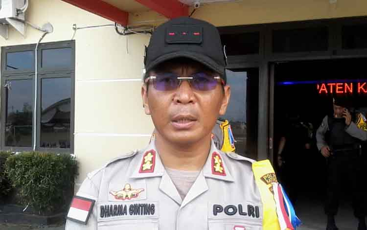 Kapolres Katingan AKBP E Dharma B Ginting.