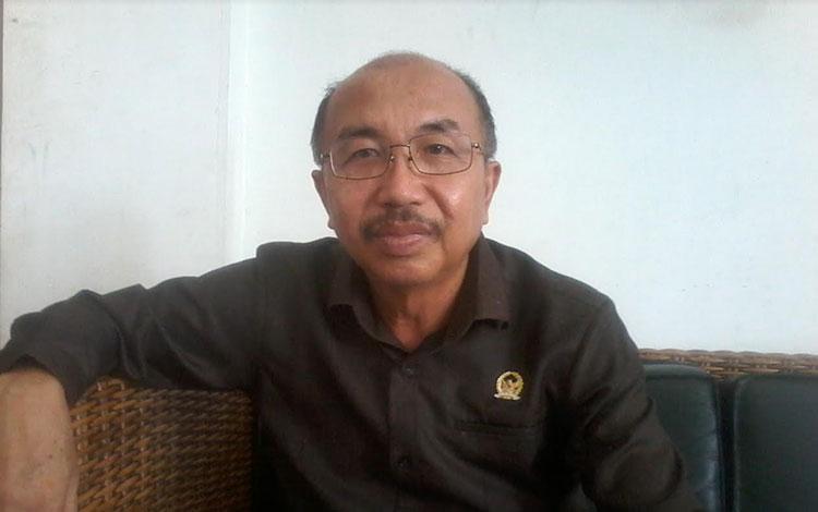 Ketua DPRD Katingan Ignatius Mantir L Nussa.
