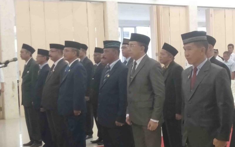 Pelantikan pejabat di Sukamara, Rabu, 29 Mei 2019.
