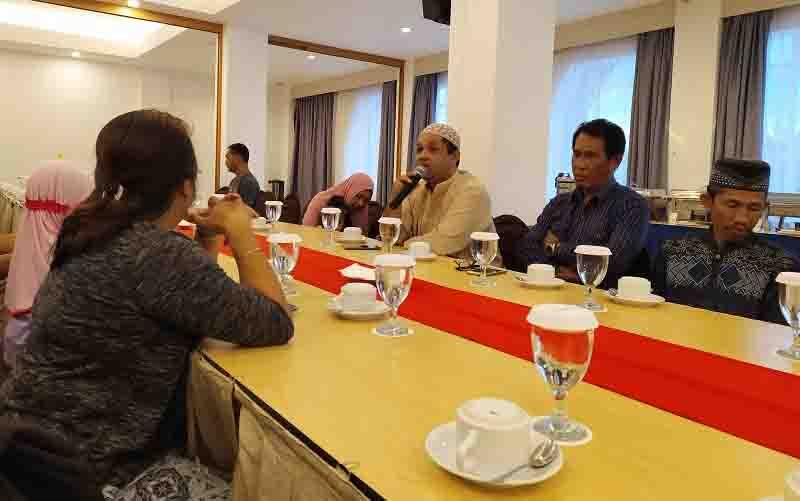 Buka puasa bersama keluarga Palangka Post dan Borneonews di Palangka Raya, Rabu, 29 Mei 2019.