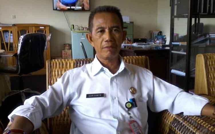 Inspektur Kabupaten Katingan, Ediyanto.