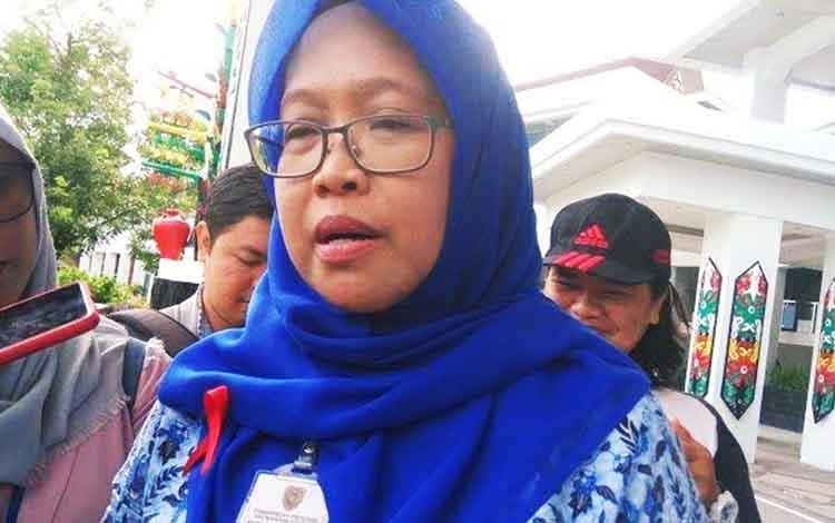 Direktur RSUD dr Doris Sylvanus Palangka Raya, Yayu Indriaty.
