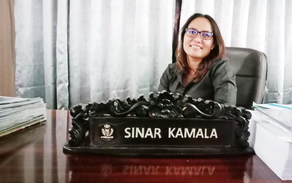 Ketua Fraksi Partai Golkar DPRD Kotawaringin Timur Sinar Kamala.