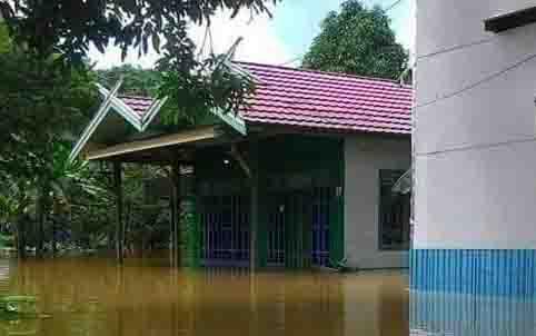Banjir di Tumbang Samba, Katingan.