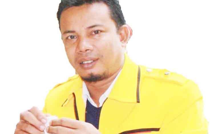 Sekretaris Umum DPD Golkar Kotawaringin Timur, Joni Abdi