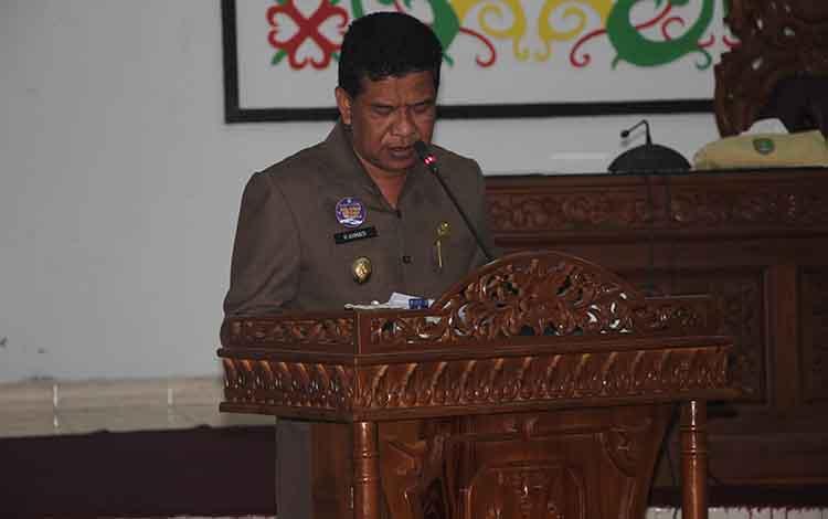 Wakil Bupati Sukamara Ahmadi.