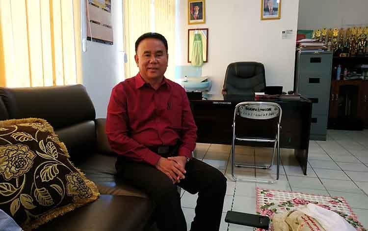 Kepala Dinas Kebudayaan Pariwisata Pemuda dan Olahraga Barito Utara, Arbaidi.