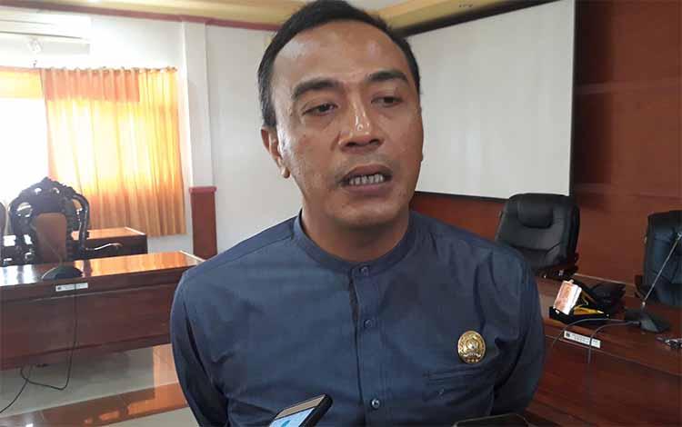 Sekretaris Komisi III DPRD Kapuas Ahmad Zahidi