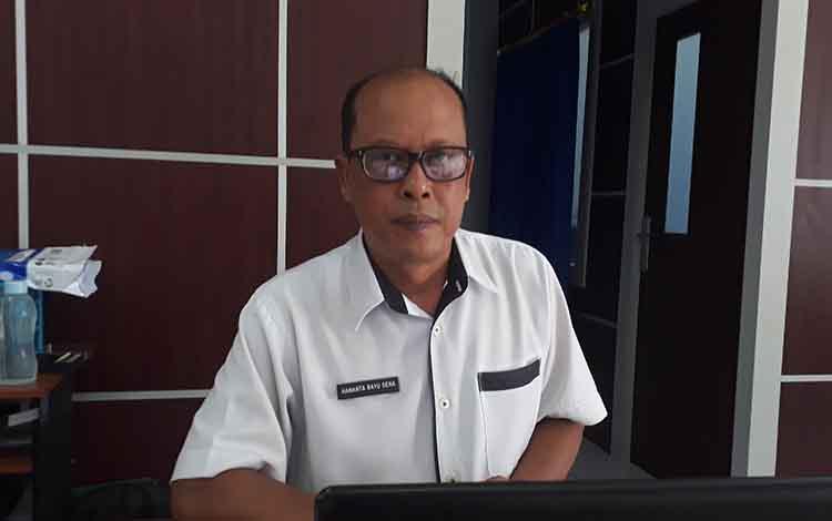 Kepala Seksi Pembangunan Prasarana Dinas Perhubungan Kotawaringin Barat Hananta Bayu Sena.