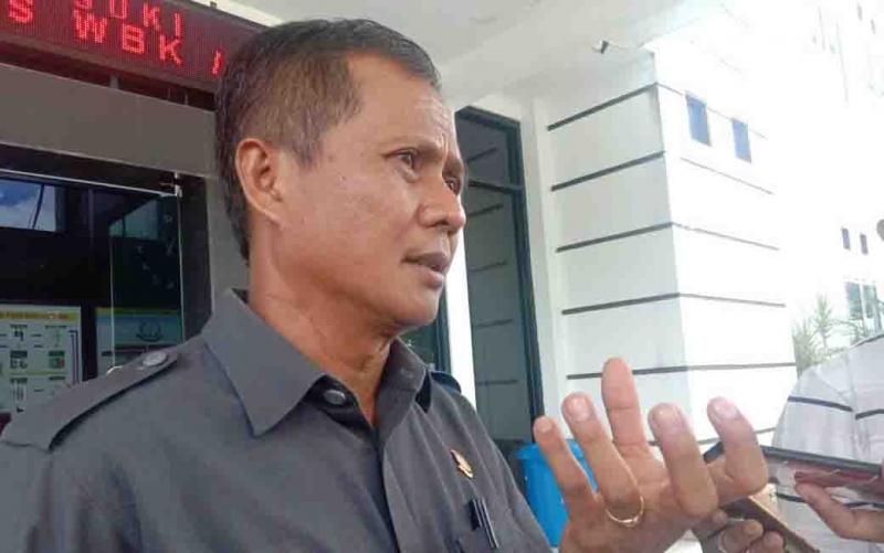 Kepala Kejaksaan Negeri Palangka Raya, Zet Tadung Allo.