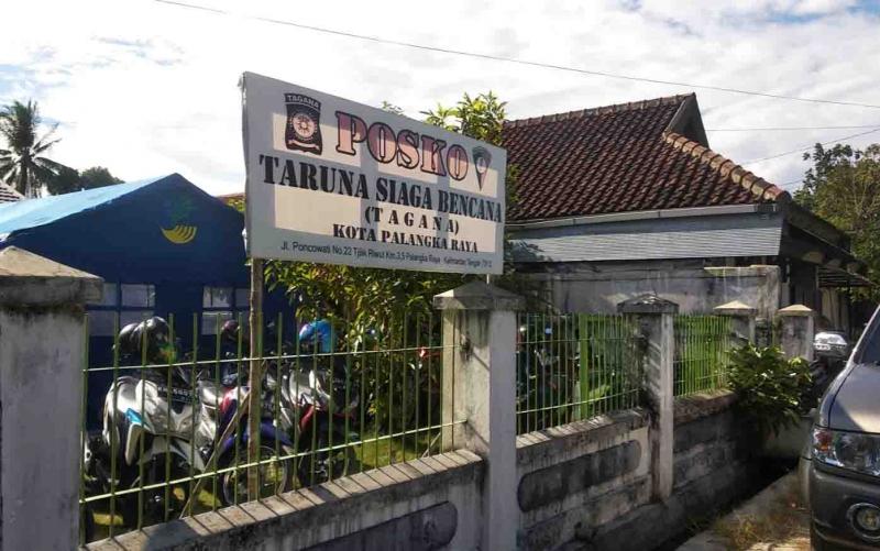Lokasi rehabilitasi kerabat terduga teroris di Palangka Raya.