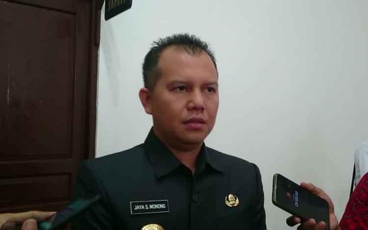 Bupati Gunung Mas, Jaya S Monong.