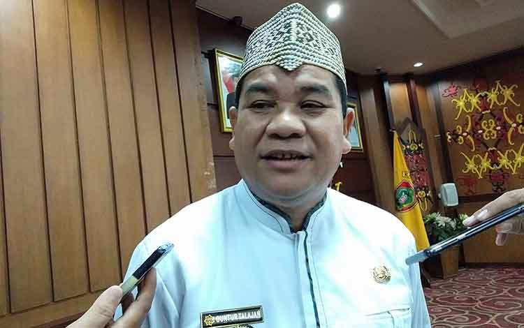 Kepala Dinas Kebudayaan dan Pariwisata Kalimantan Tengah, Guntur Talajan