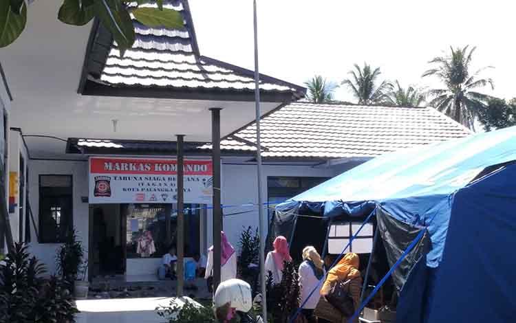 Tempat rehabilitasi kerabat terduga teroris di UPT Dinas Sosial Palangka Raya.