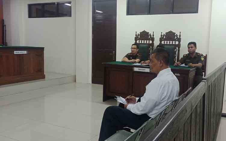 Pakar hukum pidana Prof. Dr Mudzakir SH, MH saat jadi ahli dalam praperadilan