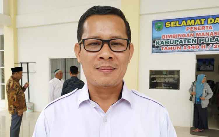 Kepala ATR BPN Pulang Pisau,  Iwan Susianto.
