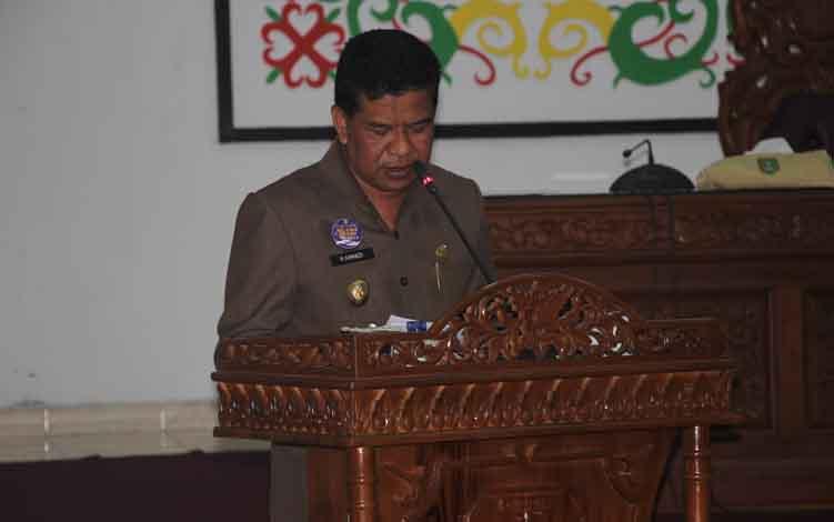 Wakil Bupati Sukamara, H Ahmadi