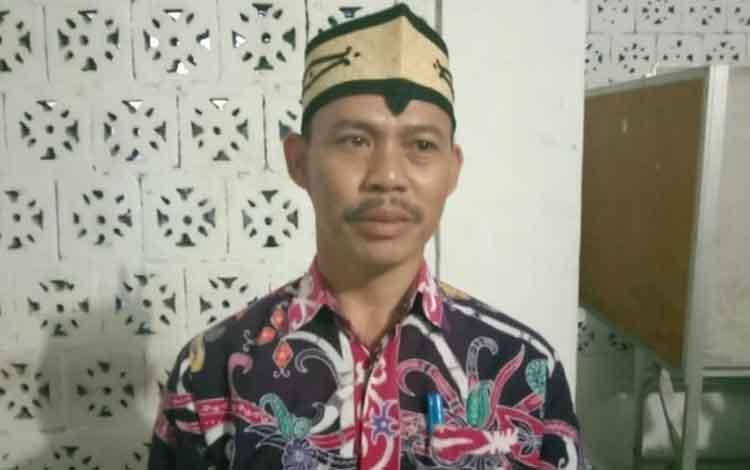 Plt Kepala Dinas PUPR-PKP Kapuas Teras