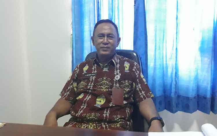 Kabid Prasrana/ Pejabat Pembuat Komitmen (PPK) Rehabilitasi APIL Dinas Perhubungan Kobar Muhammad Rizali